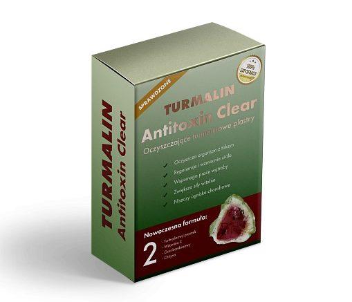 Turmalin Antitoxin Clear - oczyszczające plastry